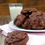 Receita de Double Chocolate Cookies