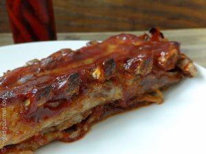 Receita de Barbecue Pork Ribs