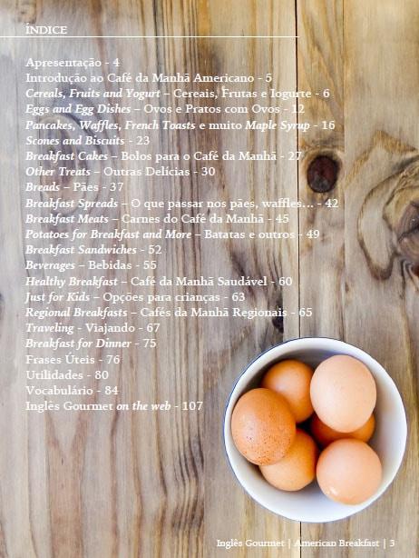 índice american breakfast