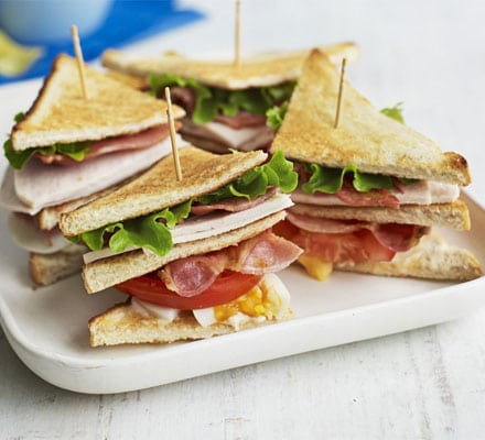 club sandwich bbcgoodfood