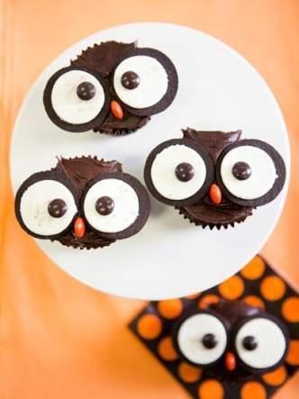 owlet cupcakes