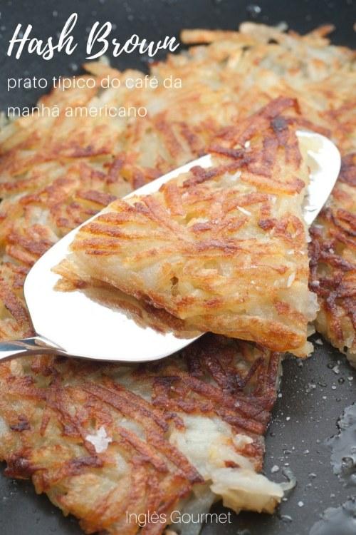 Hash Brown: prato típico do café da manhã americano | Inglês Gourmet