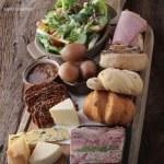 Como é um Ploughman's Lunch?