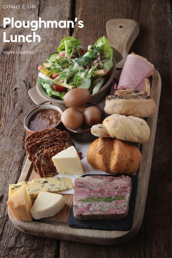 Como é um Ploughman's Lunch? | Inglês Gourmet