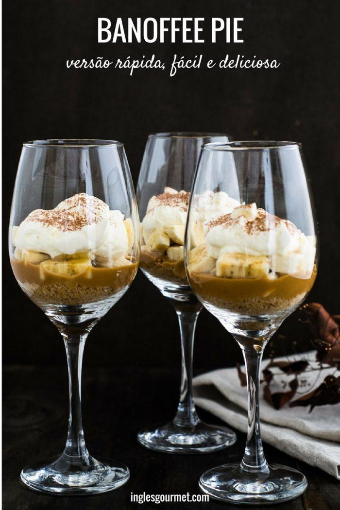 Receita de Banoffee Pie: versão rápida, fácil e deliciosa | Inglês Gourmet