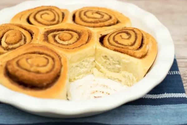 receita de cinnamon roll