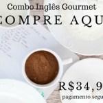 Combo dos eBooks do Inglês Gourmet