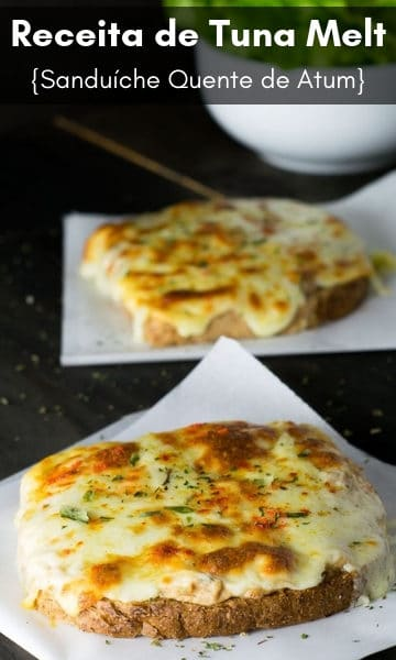Receita de Tuna Melt {Sanduíche Quente de Atum} | Inglês Gourmet