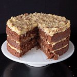 Como é o German Chocolate Cake?