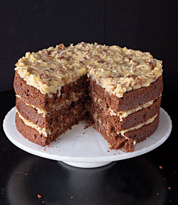 Como 233 O German Chocolate Cake Ingl 234 S Gourmet