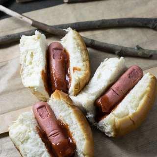 Receita de Halloween: Bloody Finger Hot Dog   Inglês Gourmet