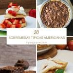 20 Sobremesas Típicas Americanas