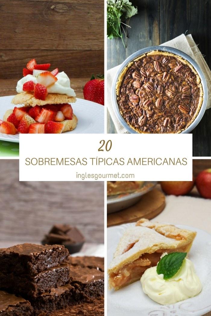 20 Sobremesas Típicas Americanas | Inglês Gourmet
