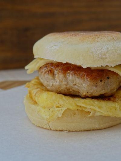 Egg Sandwich   Inglês Gourmet