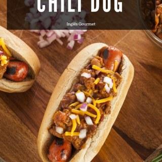 Receita de Chili Dog   Inglês Gourmet