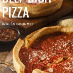 Receita de Chicago-Style Deep Dish Pizza
