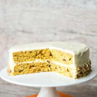 Receita de Carrot Cake | Inglês Gourmet