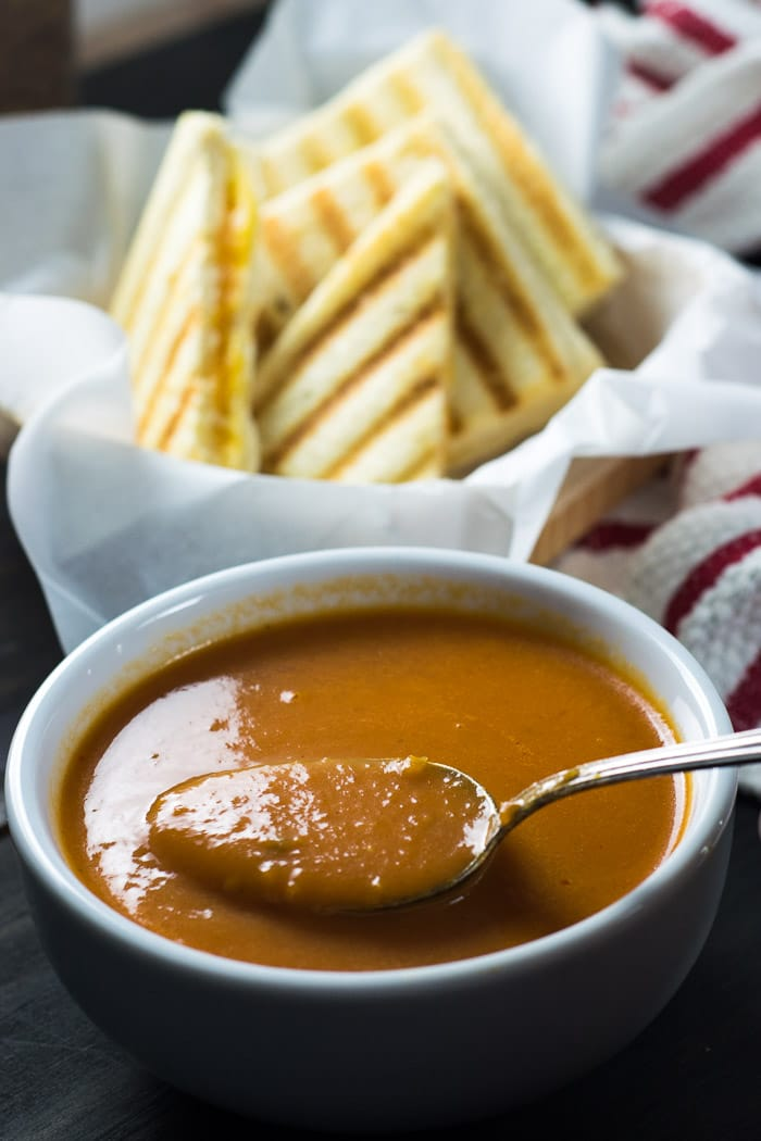 Tomato Soup & Grilled Cheese | Inglês Gourmet
