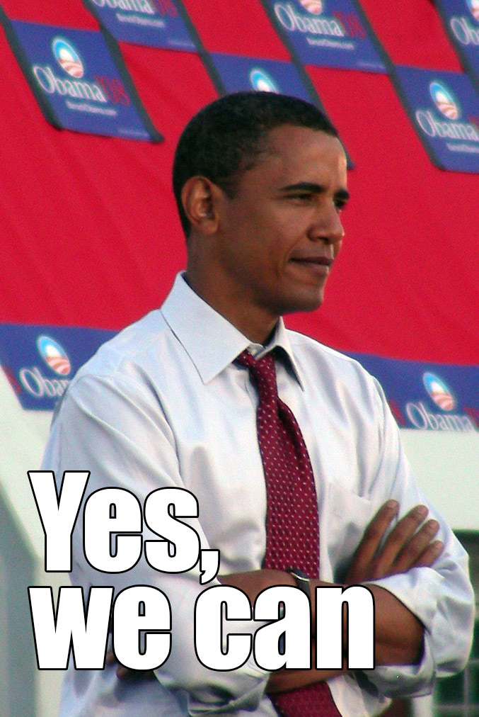 obama yes we can inglés traducción