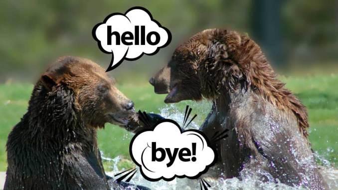 saludar despedirse en inglés