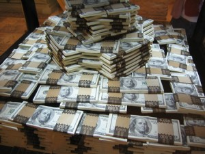 many dollars - much x many