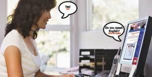aprender ingles pela internet