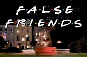 falsos cognatos false friends