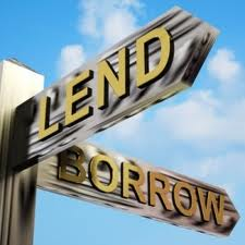 lend x borrow inglês diferença