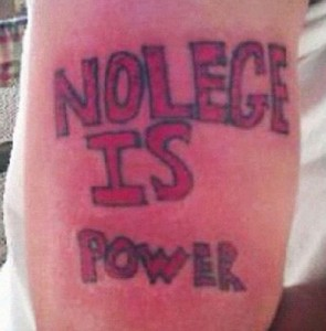 nolege is power