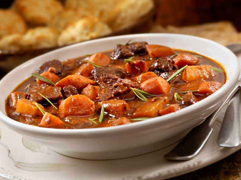 Pratos típicos da Irlanda Irish Stew