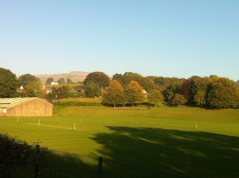 View from double bedroom towards Ingleborough