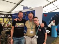 Professor Extremadura, Martin Kelsey and Patrick