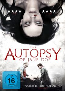 The Autopsy of Jane Doe DVD