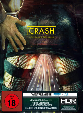 Crash 4K Blu-ray