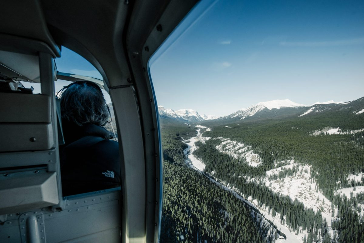 New Video: Abraham Lake Helicopter Roadtrip 4K