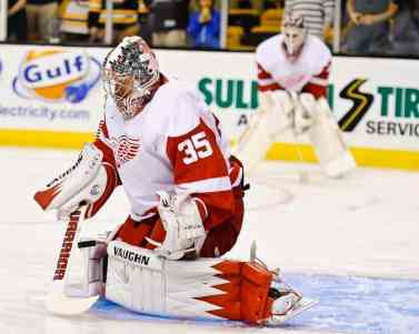 Jimmy Howard's name has been raised in connection with trade speculation.