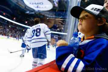 The last time the Leafs were in town, this fan was still in diapers.