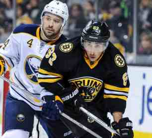Brad Marchand and Josh Gorges