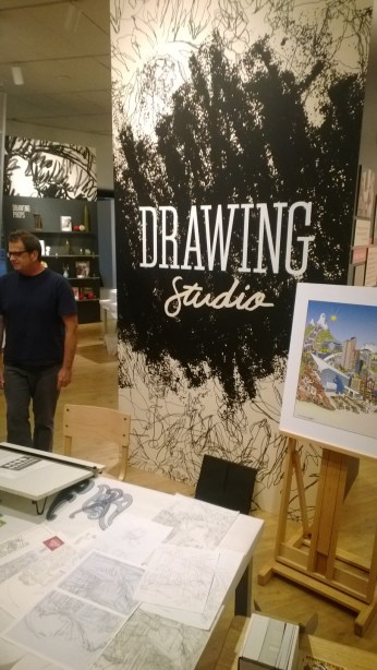 The Drawing Studio at the Denver Art Museum.