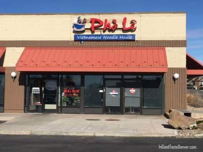 Pho Le is a strip mall treasure.