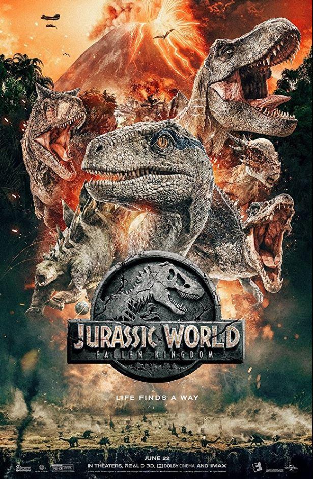 Jurassic World: Fallen Kingdom : jurassic, world:, fallen, kingdom, Jurassic, World:, Fallen, Kingdom, Review, Taste, Denver