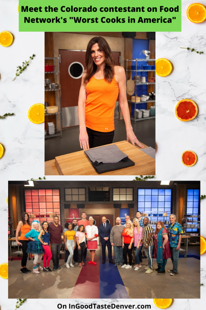 Pin this interview with the Colorado contestant on Food Network's Worst Cooks in America.