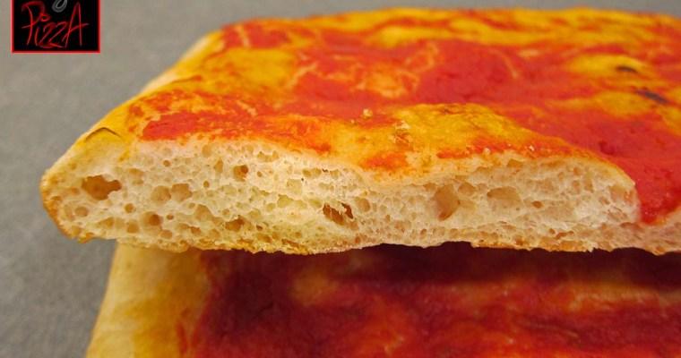 BASE ROSSA PER PIZZA IN TEGLIA – FOCACCIA