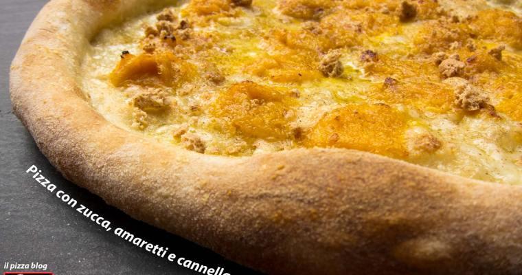 PIZZA CON ZUCCA, AMARETTI E CANNELLA