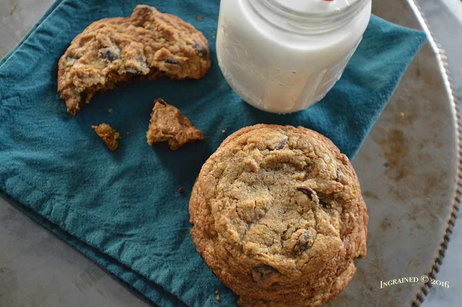 Dark Chocolate Chip Cookie | Ingrained