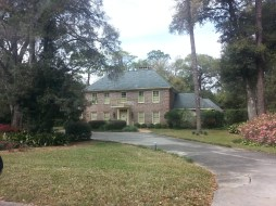 Beautiful homes with gorgeous landscaping surround the Stetson campus
