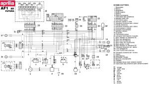Aprilia AF1 50 Futura wiring reference | INgramUS Blog
