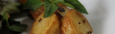 Batatas douradas