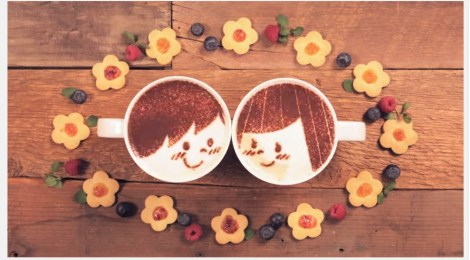 Mil xícaras de café e uma história de amor