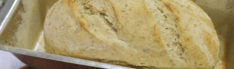 Pão Integral de Ervas